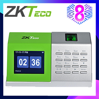 ZKTeco Biometric Fingerprint Time Attendance Machine Desktop Time Attendance Monitoring System D2(free shipping)