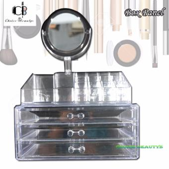 Cosmetic Organizer Make Up and Jewelry Storage- 3 Drawers