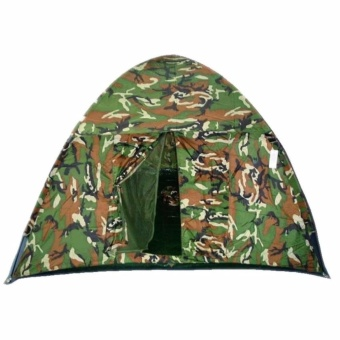 Zover 4 Person Camouflage Waterproof Outdoor Camping Family Hiking Tent