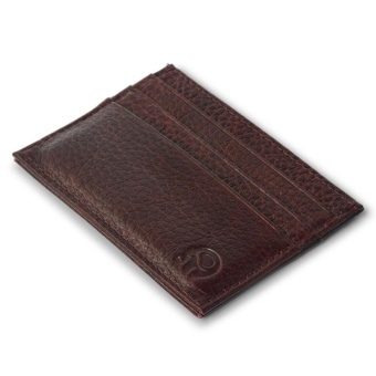 Front Pocket Wallet Minimalist Super Thin 6 Card Wallet Genuine Leather Coin Purse Ostrich - intl