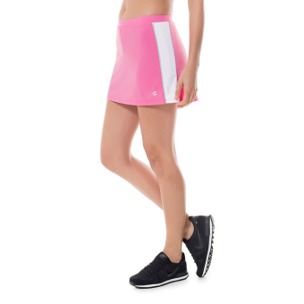 Gold soup badminton thin breathable quick-drying fitness skirt short culottes (Rose color)
