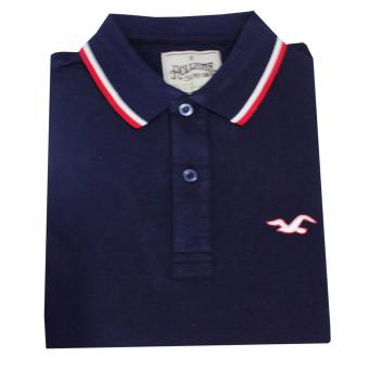 Hollister 1601 Men's Polo Shirt(Navy Blue)