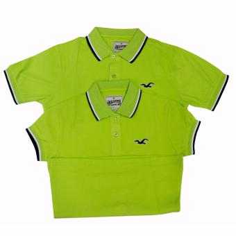 Hollister Couple Polo Shirt(Lime Green)