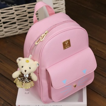 (Imported)BEST-HGHFD Top rate Fashion School Backpack Women Children Schoolbag Back Pack Leisure Korean Ladies Knapsack Laptop Travel Bags for Teenage Girls - intl