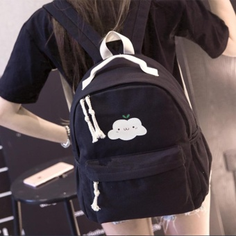 (Imported)BEST-HGJYG Top rate Fashion School Backpack Women Children Schoolbag Back Pack Leisure Korean Ladies Knapsack Laptop Travel Bags for Teenage Girls - intl