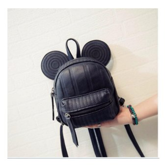 Isabel K050 Stylish Korean Backpack (Black)