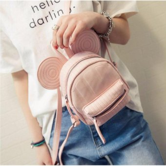 Isabel K050 Stylish Korean Backpack (Pink)