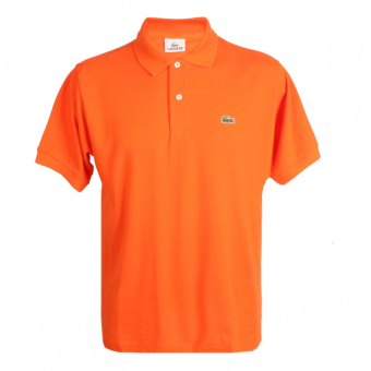 LACOSTE CLASSIC POLO SHIRT FOR MEN (SUNKIST)