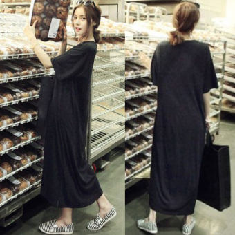 Loose Korean-style New style elegant Plus-sized dress