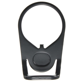 BLACK Hunting Black Ambidextrous 180 degree Steel Sling Adapter Mount NEW - intl