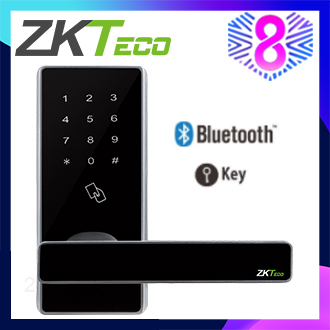 ZKTeco Bluetooth Smart Door Lock Password RFID Card / Smart Phone APP Door Lock DL30B(free shipping)