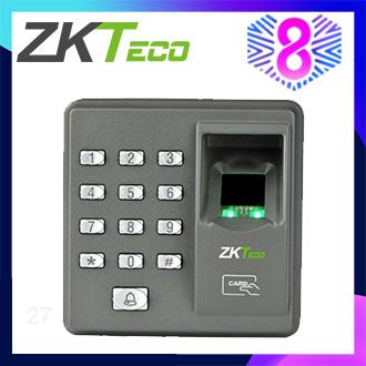 ZKTeco X7 Access Control System 125KHz RFID EM ID Card Wiegend 26 Single-door Stand-alone keypad