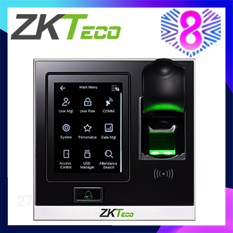 ZKTeco Biometric Fingerprint Access Control Kit RFID SF400 Access Control System(free shipping)