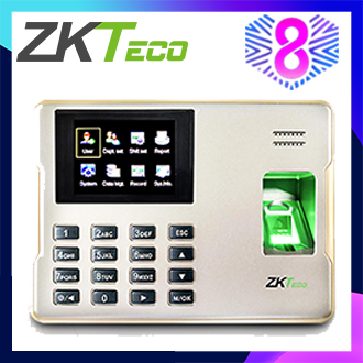 ZKTeco 2.8 inch TFT USB Biometric Fingerprint Time Attendance Machine Time Clock Recorder Employee Checking-in/out Reader LX62