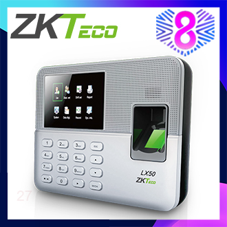 ZKTeco 2.8 inch TFT USB Biometric Fingerprint Time Attendance Machine Time Clock Recorder Employee Checking-in/out Reader LX50