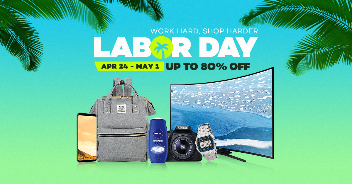 Labor Day Sale - Vouchers & Best Deals Up to 80% off