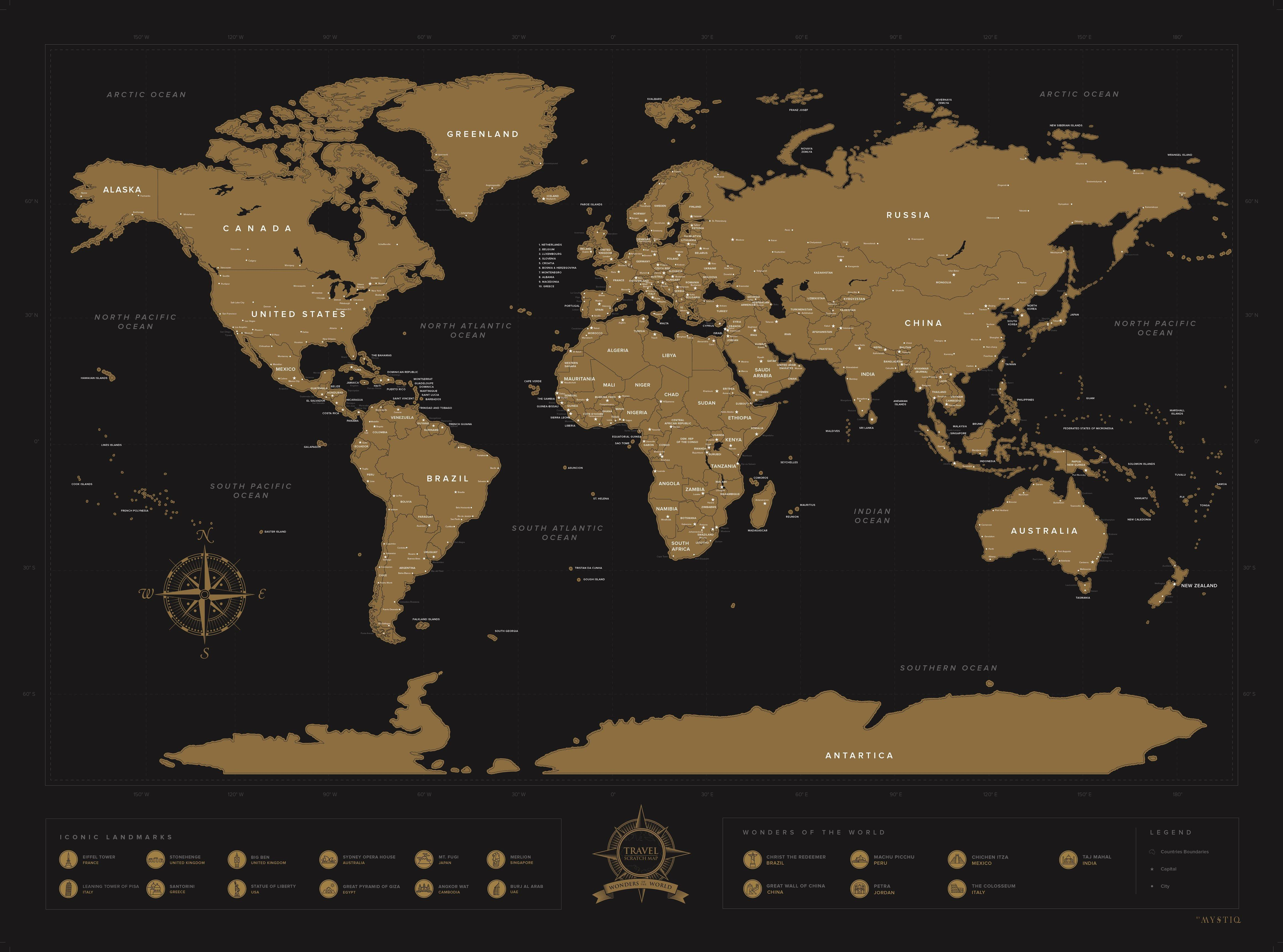 The original world scratch map panda trading lazada ph have for those who love to jet set around the globe and wish to fondly take a glimpse at past memories with a slick black background and scratch off publicscrutiny Image collections