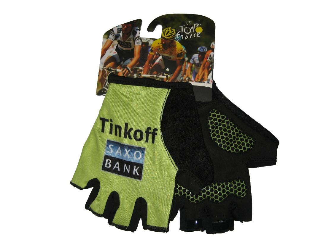 Fortress Bike Gloves/Tinkoff Cycling Half Finger Gel Pad
