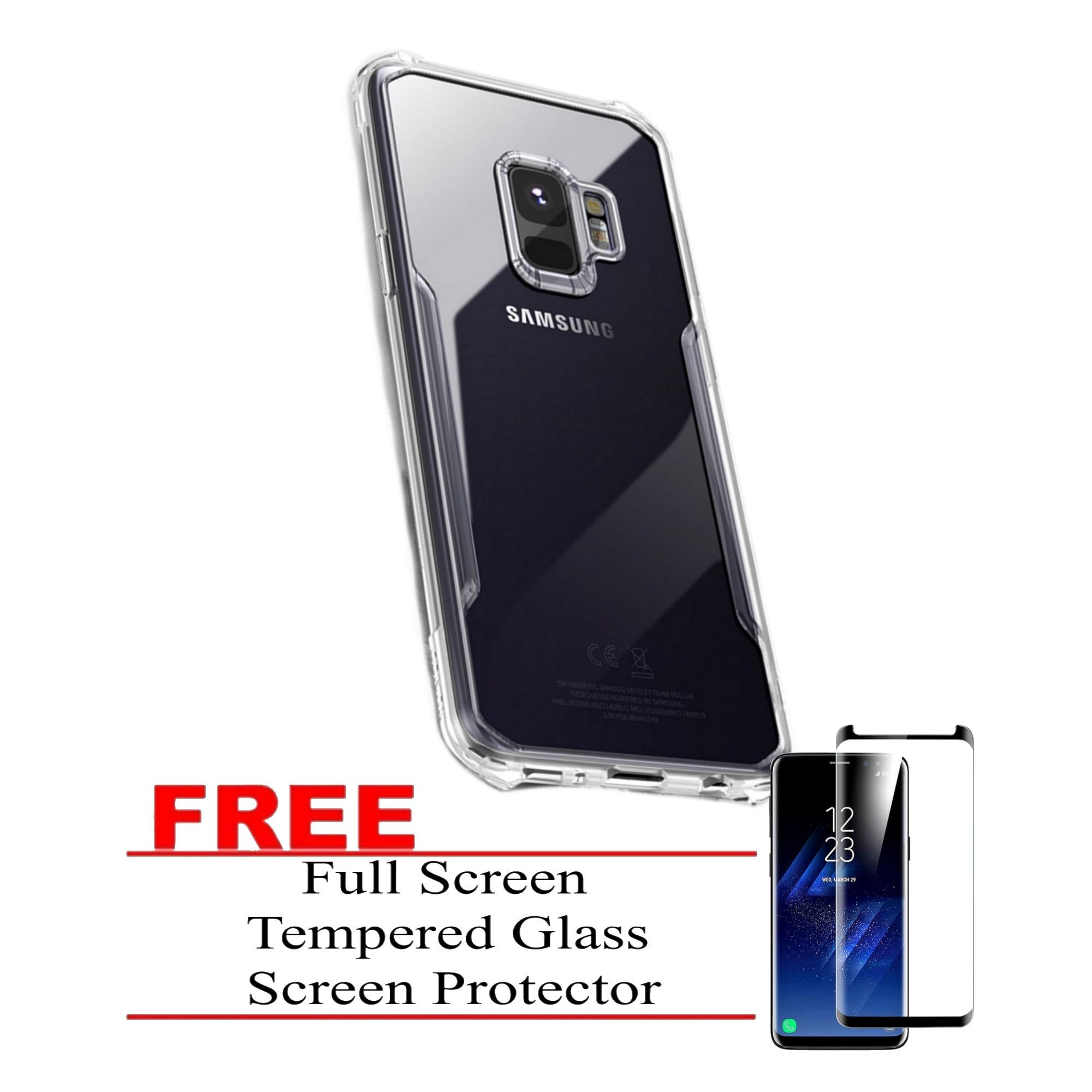 Beetle Armor Series Case for Samsung Galaxy S9 Plus by Xundd (Clear) with FREE