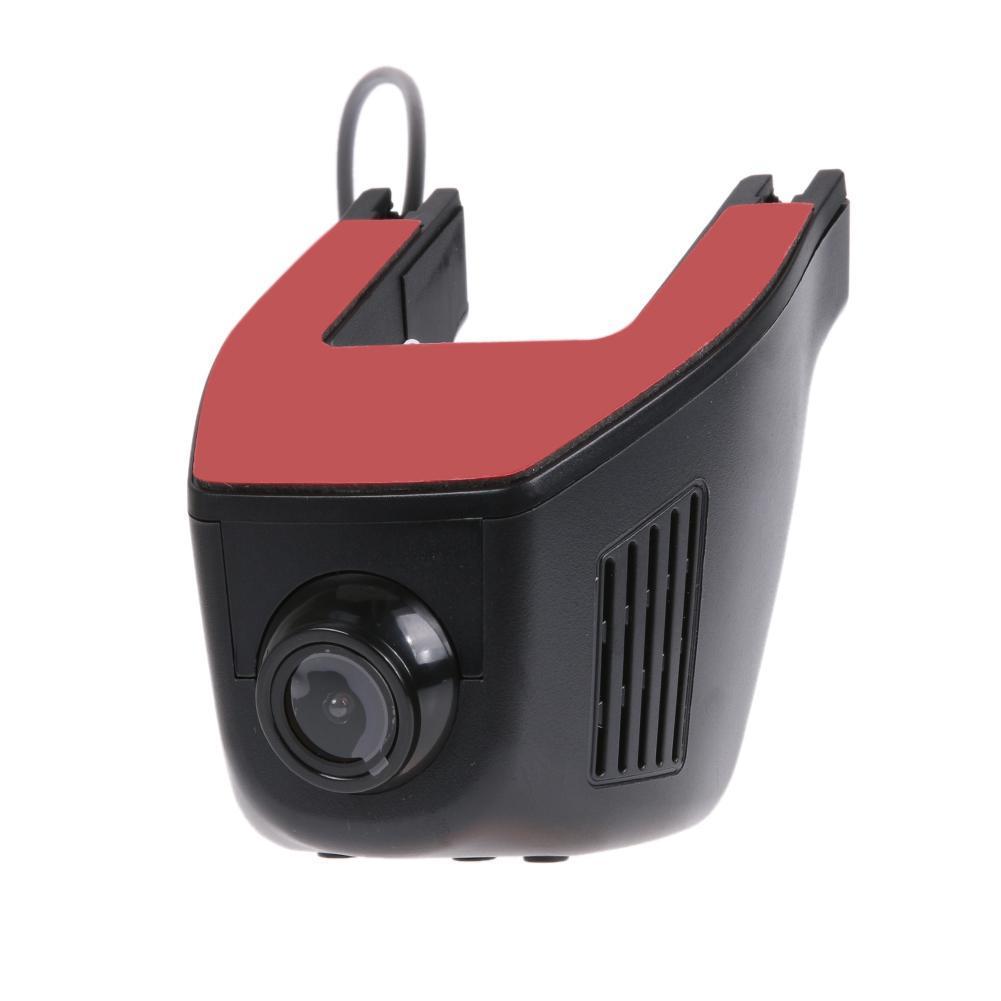 1080P HD Hidden WiFi Car DVR Video Recorder Dash Cam (Black)-A5-