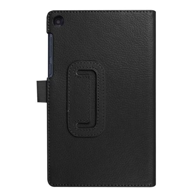 Bigskyie Flip Floding Leather Case Stand Cover for Lenovo Tab3 7 Essential(710F)Black