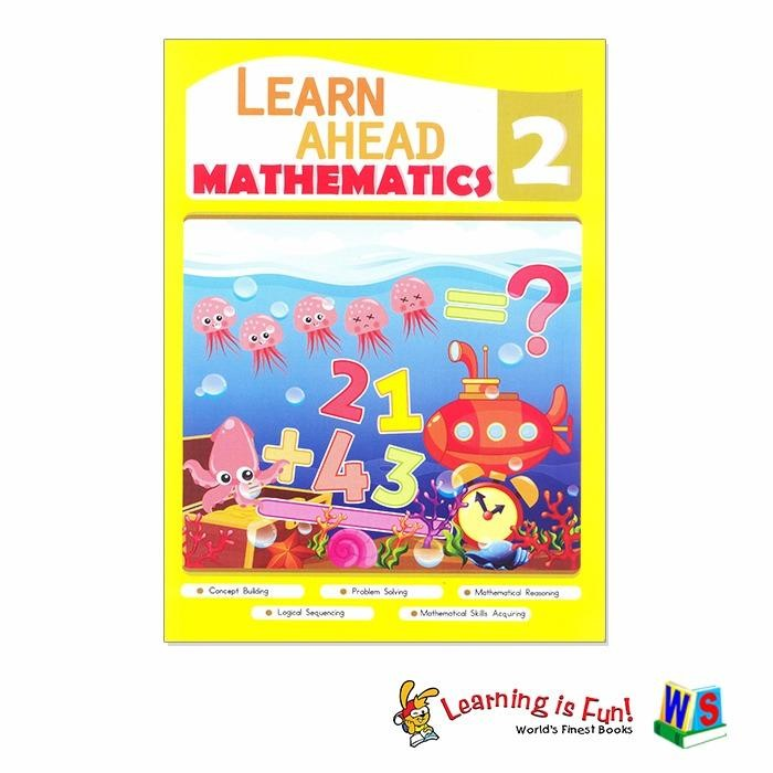 WS Learn Ahead Grade 2 (English & Math) Set Of 2 - 2