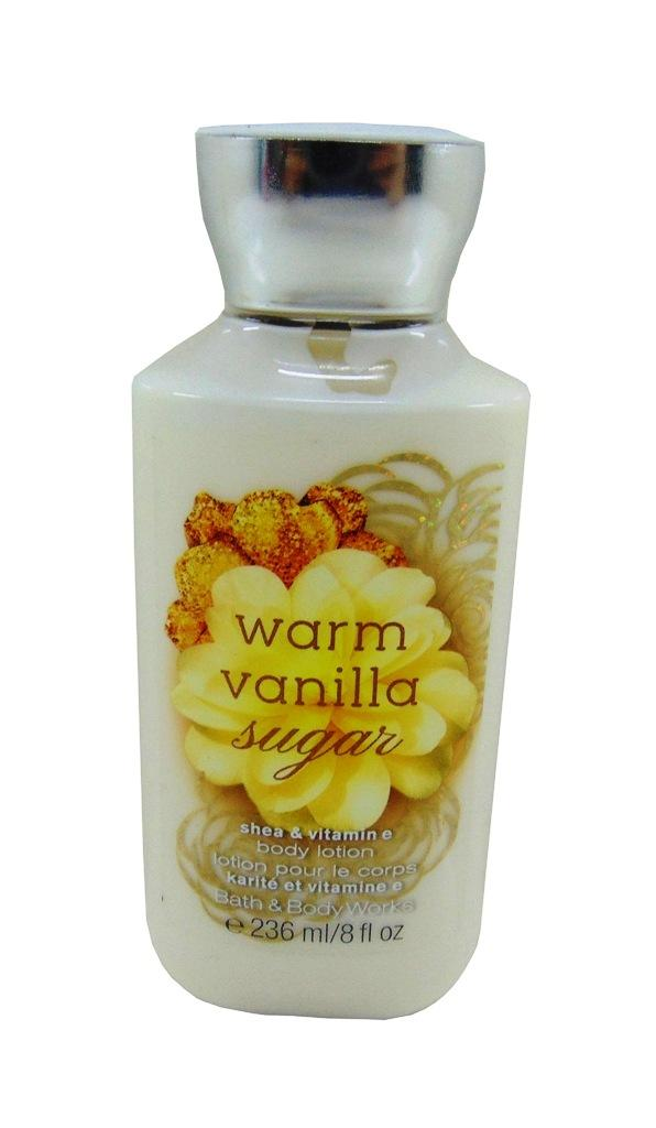Bath and Body Works Warm Vanilla Sugar Shea and Vitamin E Body Lotion 236ml / 8fl
