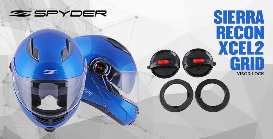 Specifications of Spyder Spare Visor Lock for models Recon,Xcel2,Grid & Sierra 16055687