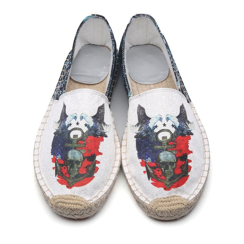 VisvimPLAY canvas breathable loafers espadrilles