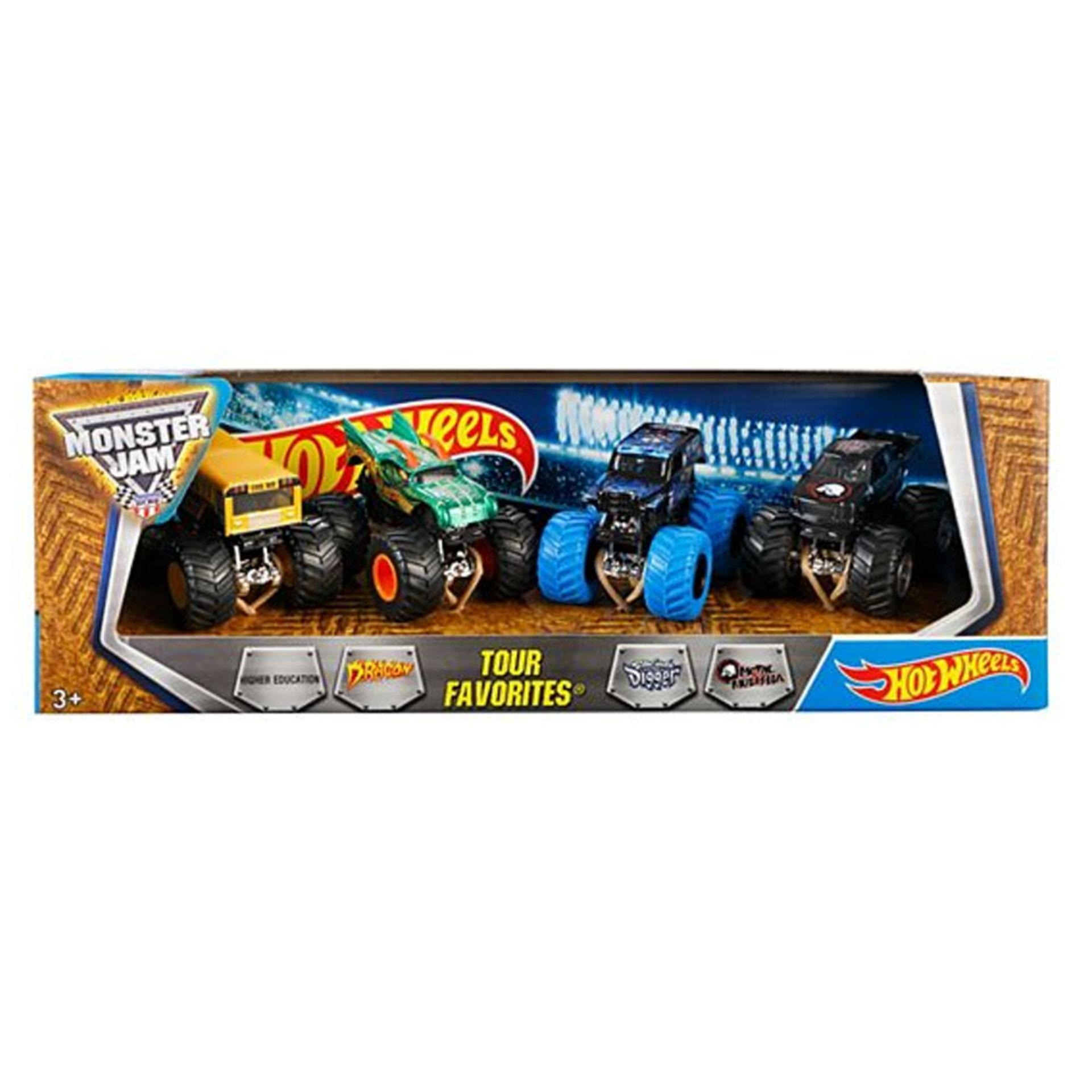 Hot Wheels Monster Jam Tour Favorite 2