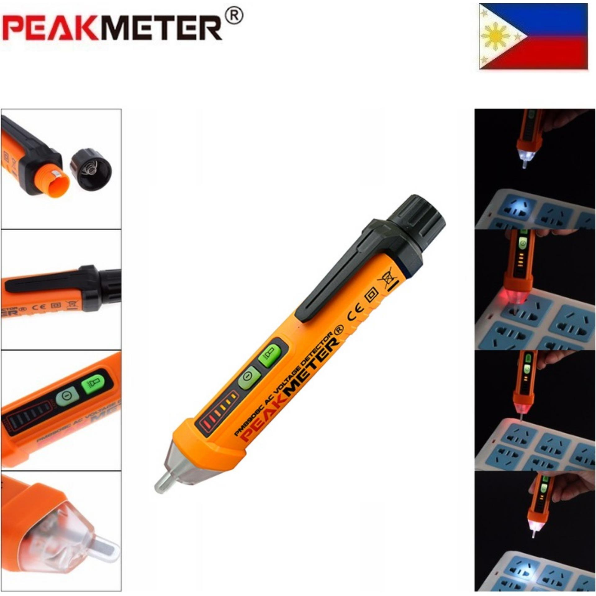 The Price Of Original Fluke 200 1000v Volts Non Contact Sensor Details About Ac Voltage Detector 90v To Electrical Live Circuit Peakmeter Pm8908c Tester Meter 12v Pen Style