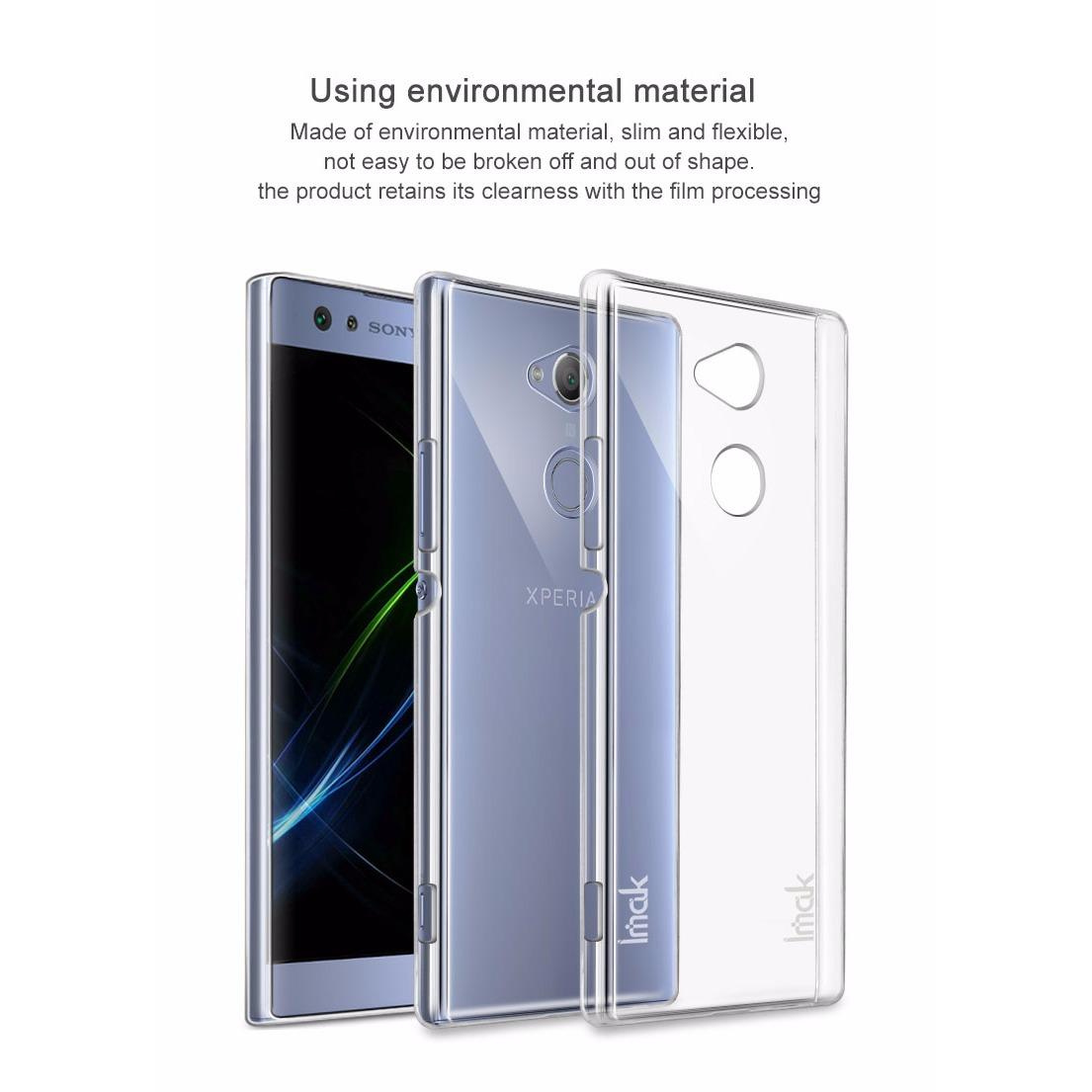 Imak Ultra-thin Clear Crystal Transparent Back Cover Case for Sony Xperia .