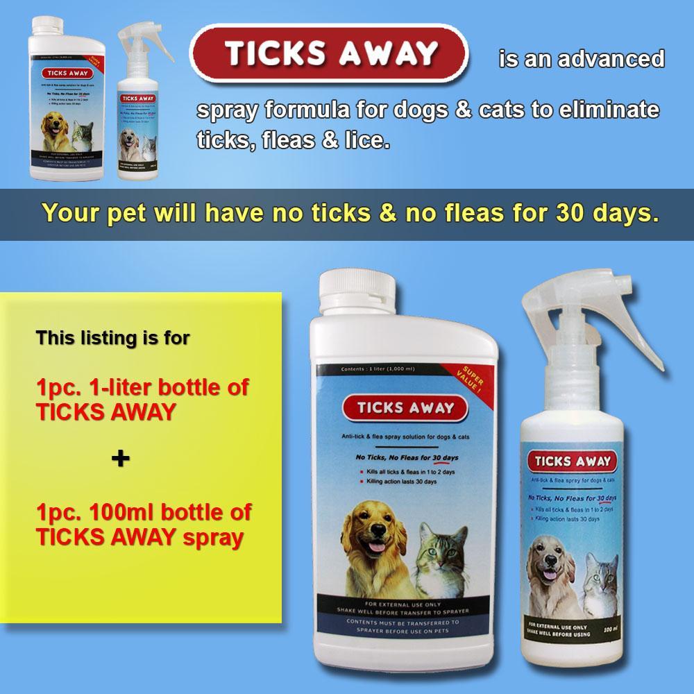 ticks away liter info