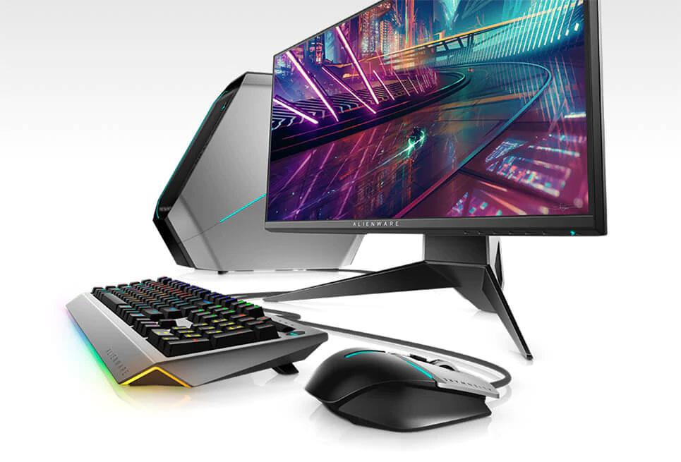 4a6af0e31ec Tricked out and all in. Introducing all-new Alienware monitors, mice and  keyboards ...