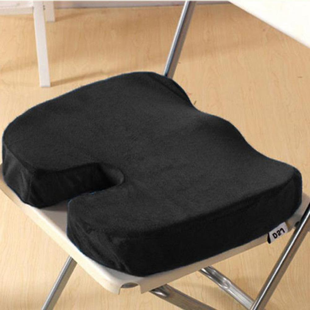 coccyx orthopedic memory foam seat cushion for chair car office home black lazada ph. Black Bedroom Furniture Sets. Home Design Ideas