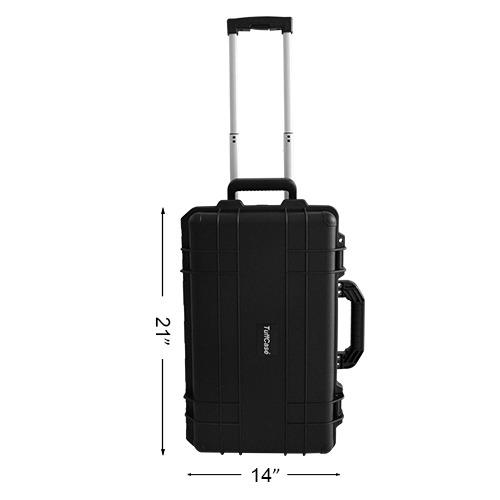 How To Buy Tuffcase 500 Trolley Bag Black Philippines June 2018