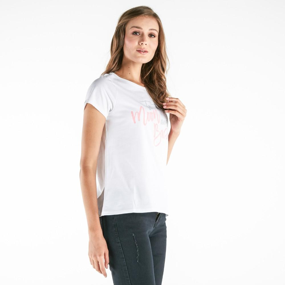 Forme Tee With Graphic Print (White) - 3