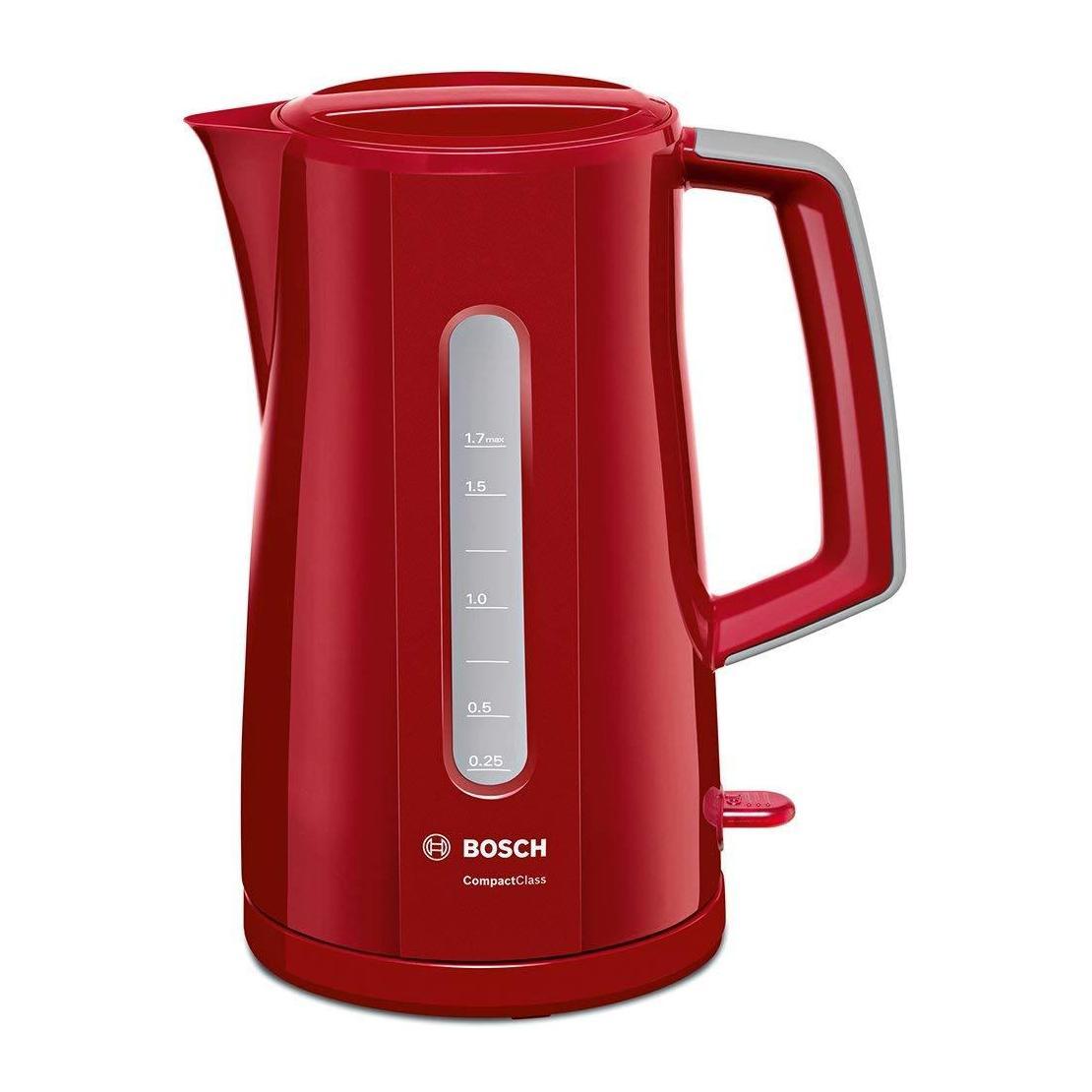 BOSCH TWK3A014 CHORDLESS KETTLE 1.7L; RED
