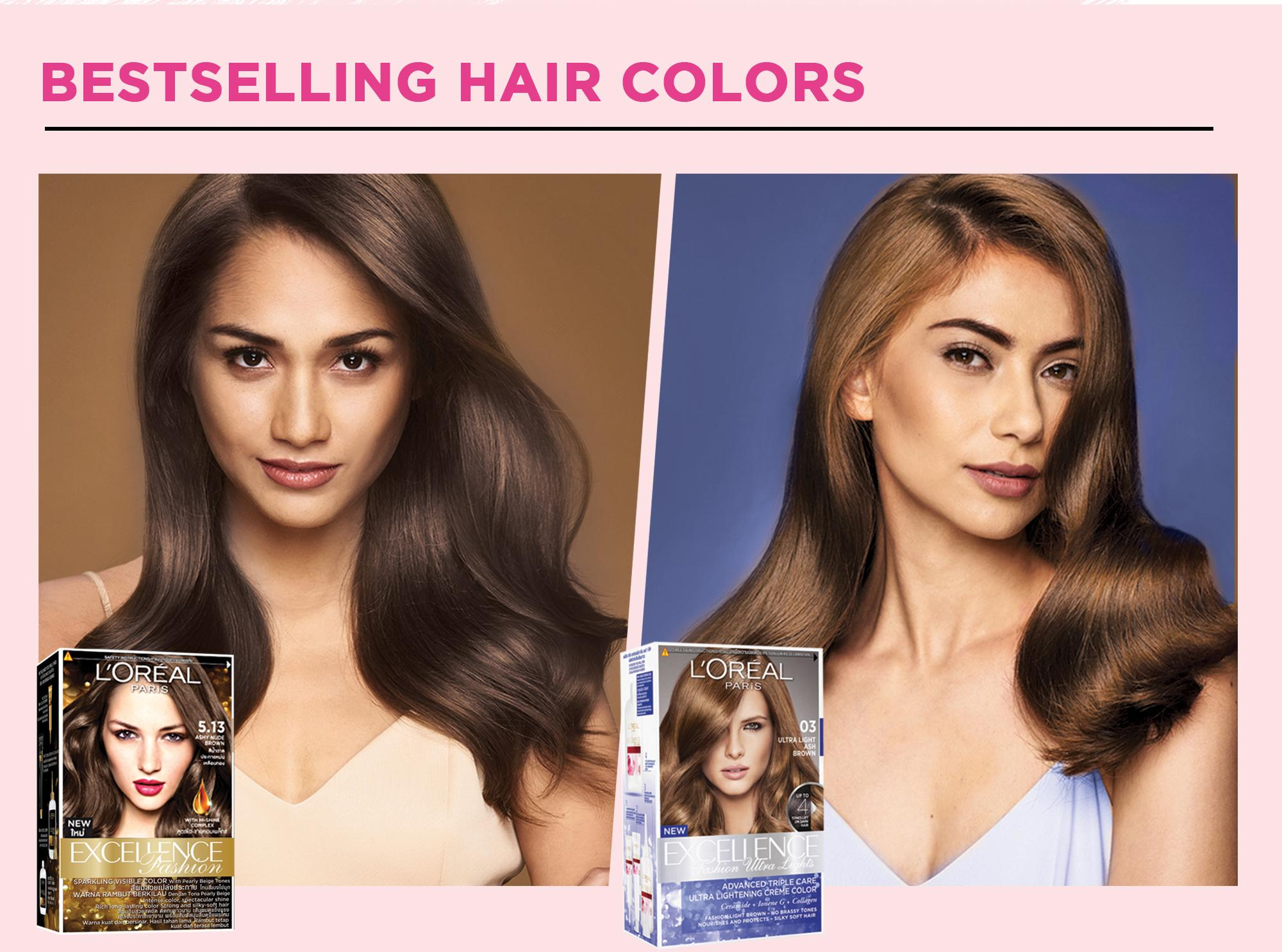L\'Oreal Paris Excellence Creme Hair Color 14g (No.6.35 Light Amber ...