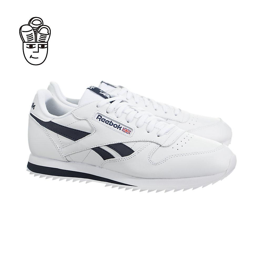 e027e6cfb363b REEBOK Classic Leather Ripple Low BP Mens Shoes This timeless sneaker  features a leather upper