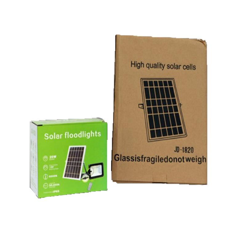 ... JD-1820 Solar Floodlights Private Street Lamp Without Electricity with High Quality Solar cells ...