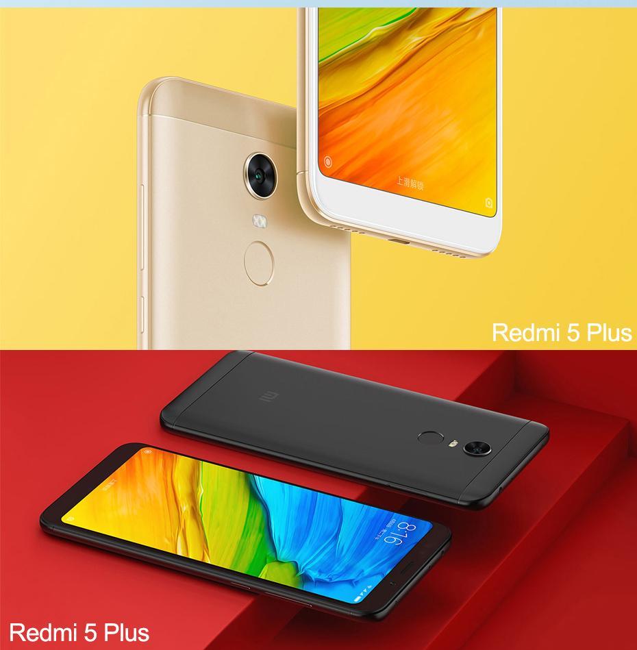Xiaomi Redmi 5 Plus 599 Inch Display 3gb Ram 32gb Rom Octa Core Black Specifications Of 20 Ghz