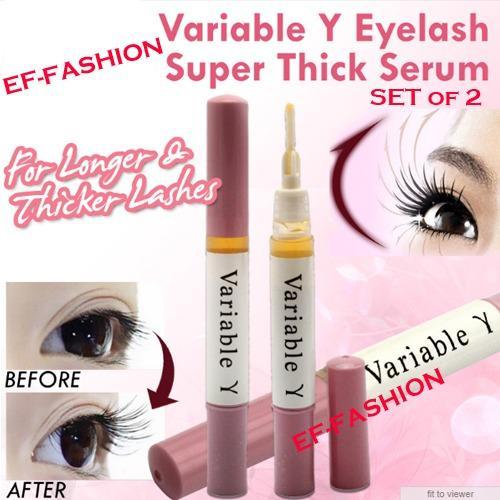 Set of 2 Variable Y Eyelash Grower Super Thick Serum 5ml Eyelash and Eyebrow Hair Growth Serum Philippines