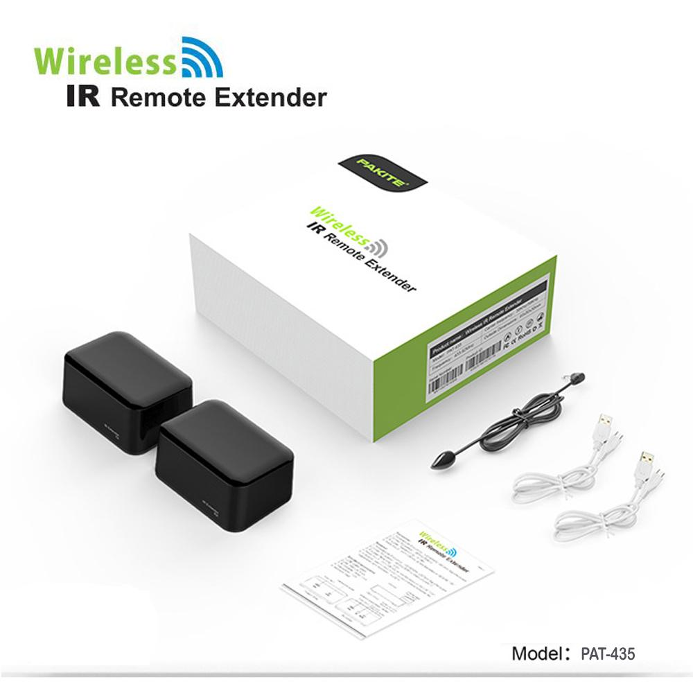 The Price Of Ir Infrared Remote Control Receiver Extender Repeater Pat 435 Wireless Transmitter Sender Extended For Android Dvd