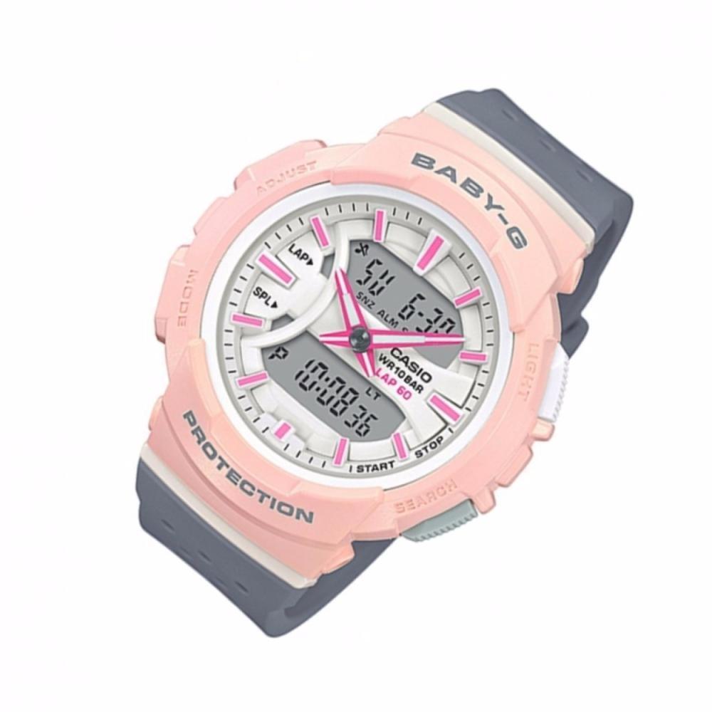 Brand New Casio Baby G Shock Black Womens Sports Watch Bga 180 3b 210 7b3 240 Running Series Pink Grey
