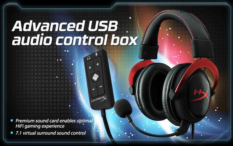 Hyperx Cloud Ii Gaming Headset For Pc Xbox One Ps4 Wii