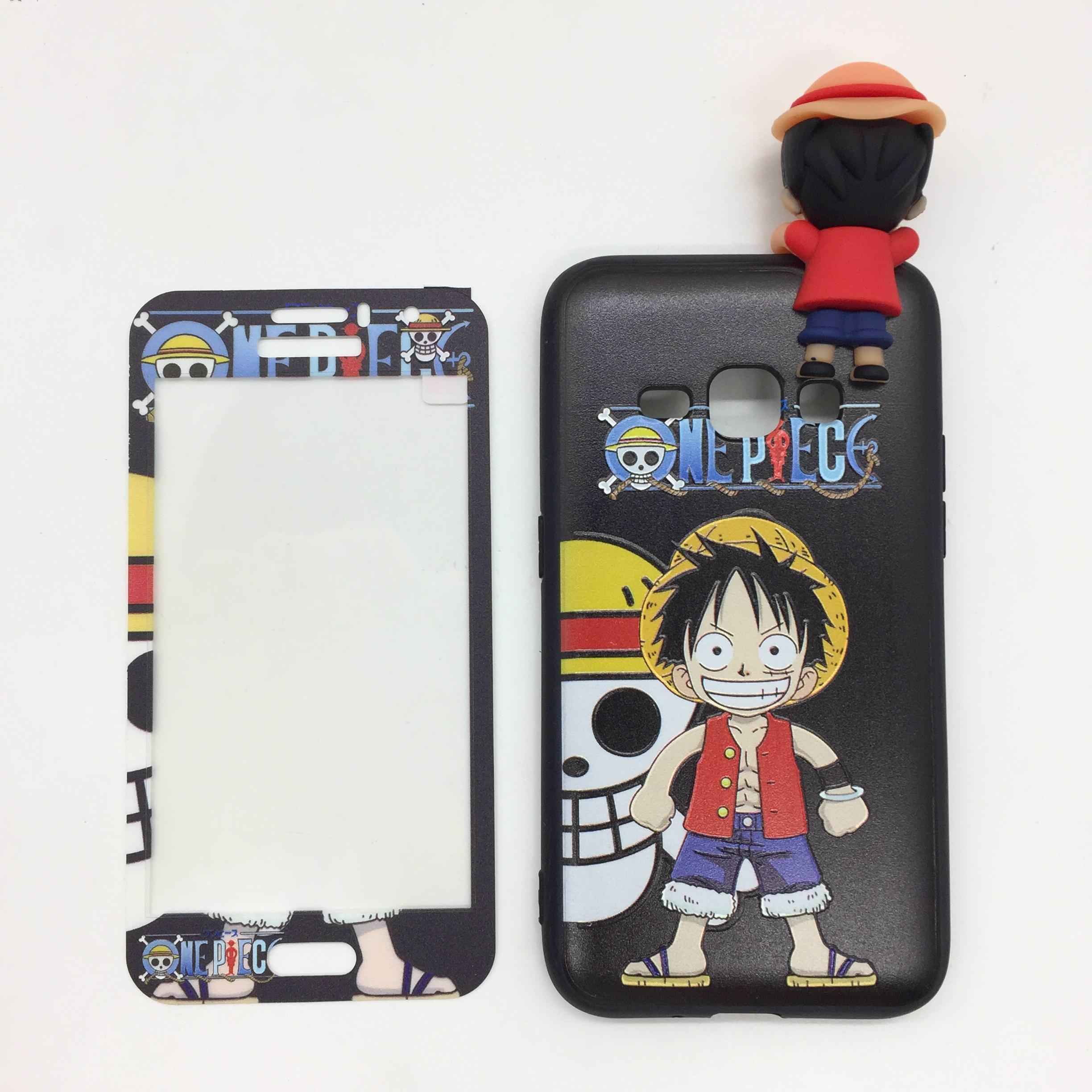 2 in 1 with e Piece Character Cover Case For Samsung Galaxy J2