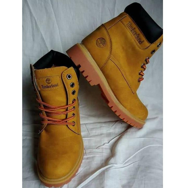 Timberland Boots Yellow and Black