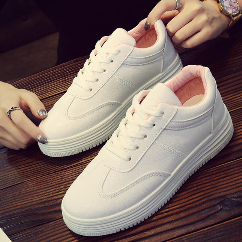 Best Buy Mon Fashion Women Sports Shoes Female Sneakers Platform White Shoes