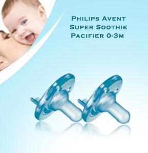 Baby-Z Philips Avent Super Soothie Pacifier 0-3m (Blue).jpg